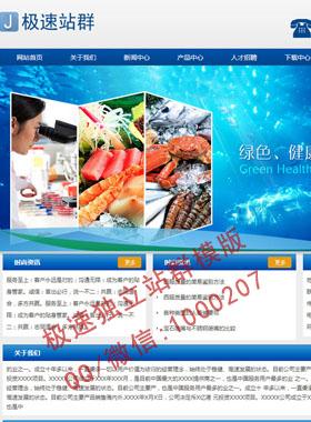 数码,电脑公司,各类设备公司影音公司网站站群模版,蓝色企业风格