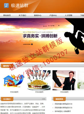 财务企业站群模版,金融网站模版,投资理财网站模版.公司站群源码开发